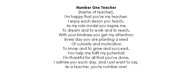 Verse 05 Teacher